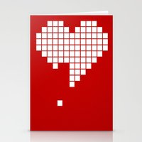 Arknoid Heart Stationery Cards