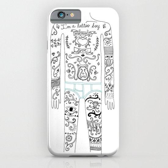 tattoo boy iPhone & iPod Case