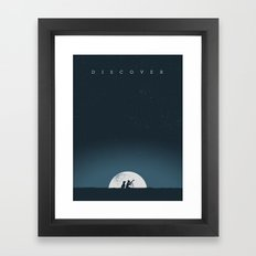 Discover Framed Art Print