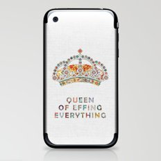 her daily motivation iPhone & iPod Skin