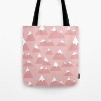 Mountain Pattern Tote Bag