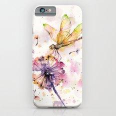 Dragonfly & Dandelion Dance Slim Case iPhone 6s