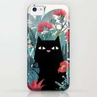 iPhone 5c Cases featuring Popoki by littleclyde