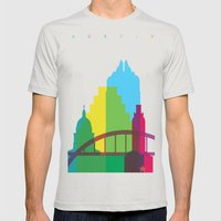 Shapes Of Austin. Accura… Mens Fitted Tee Silver SMALL
