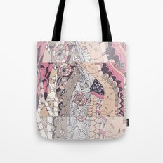 The stems were at roulette sepia Tote Bag