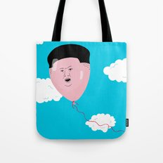 Kim Jong-Ball-Un Tote Bag