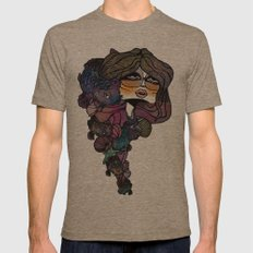 Pisces Mens Fitted Tee Tri-Coffee SMALL