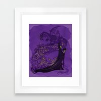 Something Wicked This Wa… Framed Art Print