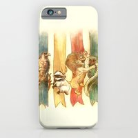 harry potter iPhone & iPod Cases featuring House Brawl by Alice X. Zhang
