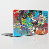 Laptop & iPad Skin featuring Microcrystalline Tendril… by Archan Nair