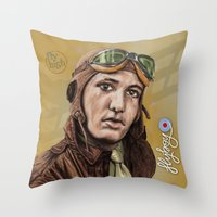 Flyboy Throw Pillow