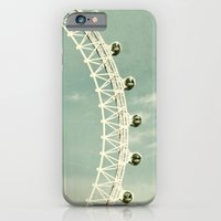 iPhone & iPod Case featuring London-eye by monography