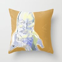 Ingmar Bergman Throw Pillow