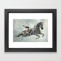 Save our world Framed Art Print