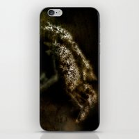Flower Grunge iPhone & iPod Skin