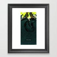 The End (Part 2) Framed Art Print
