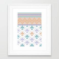 Tee-Pee Framed Art Print