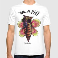 Hedoshi Mens Fitted Tee White SMALL