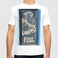 One Stop Shop Mens Fitted Tee White SMALL