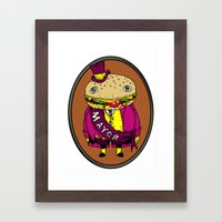 the mayor Framed Art Print