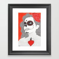 Day Of The Dead 5 Framed Art Print