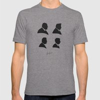 The Sopranos Mens Fitted Tee Tri-Grey SMALL