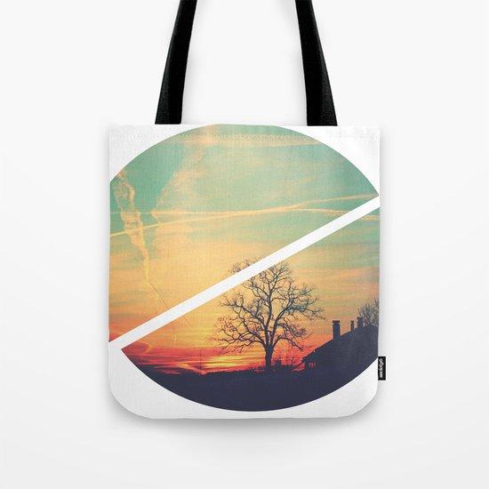 Colored Sky Tote Bag