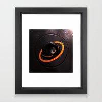 1/100 - Halo Framed Art Print