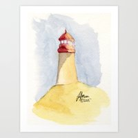 Lighthouse Impressions II Art Print
