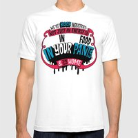 Koch In Your Pants Mens Fitted Tee White SMALL