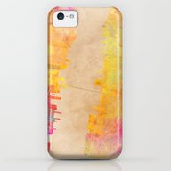 New York City Map Colore… iPhone 5c Slim Case