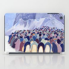 Huddling Penguins iPad Case