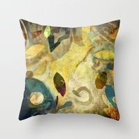 Elements V - Kindred Spirits Throw Pillow