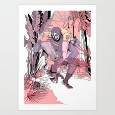 you wish you would forget Art Print