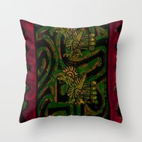 MexArt Throw Pillow