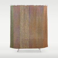 AB wicker Shower Curtain