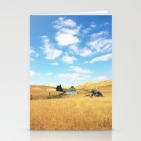 Barn. Stationery Cards