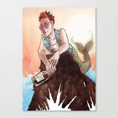 Rebel Ariel Canvas Print