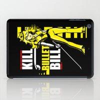Kill Bullet Bill (Black/Yellow Variant) iPad Case