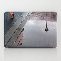 Dublin puddle iPad Case