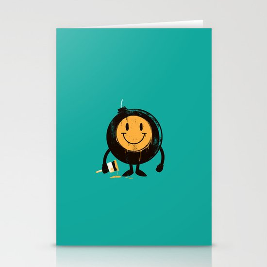 Happy buddy Stationery Card