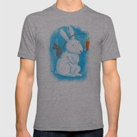 Bunny Rider Mens Fitted Tee Athletic Grey SMALL