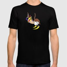 Flying Barcelona Attack SMALL Mens Fitted Tee Black