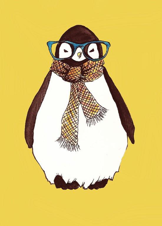 """""""Hipster Penguin"""" Art Print"""