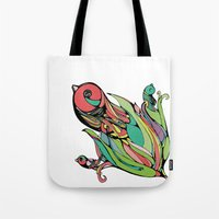Rising Of The Birdy Gods Tote Bag