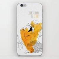Comes como un cerdo (you eat like a pig) iPhone & iPod Skin