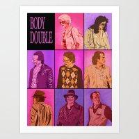 Body Double Art Print