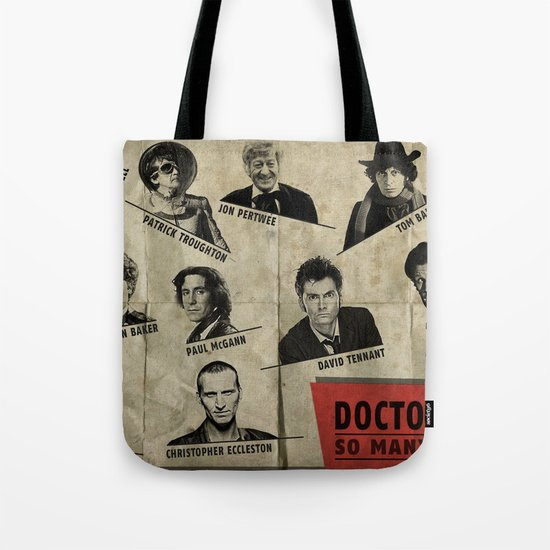 So Many Choices (Doctor Who) Tote Bag