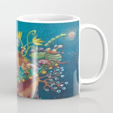 the intergalactic train Mug
