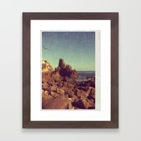 California Sealine Framed Art Print